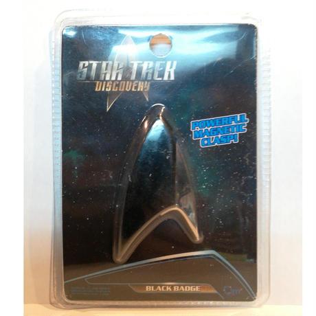 【USA直輸入】スタートレック Discovery ブラック バッヂ セクション31 Black Badge マグネット式 エンブレム スタトレ  Star Trek ディスカバリー マーク Qmx