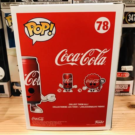 【USA直輸入】POP! コカ コーラ 缶 78  ポップ フィギュア FUNKO ファンコ 企業キャラ アド coca cola コーク