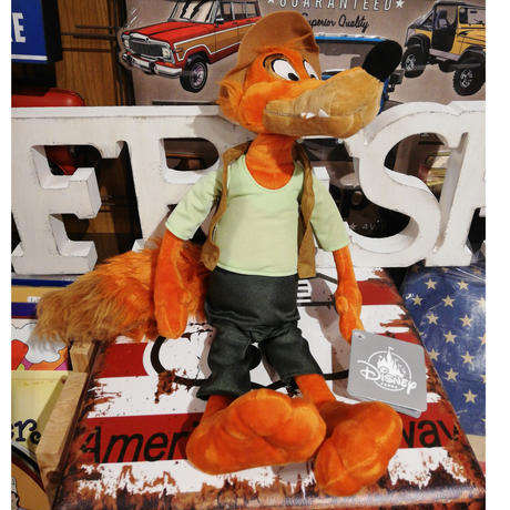 【USA直輸入】DISNEY スプラッシュマウンテン  ブレアフォックス Br'er Bear プラッシュ Mサイズ 16インチ ぬいぐるみ ディズニー 南部の唄 クリッターカントリー
