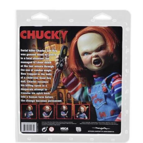 【USA直輸入】Child's Play チャイルドプレイ Chucky  チャッキー グッドガイ アクション フィギュア ブリスターパック NECA ドール ホラー