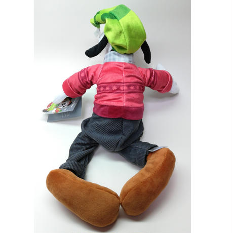 【USA直輸入】DISNEY  ノルデック ウィンター グーフィー ぬいぐるみ Sサイズ プラッシュ Goofy マフラー ディズニー