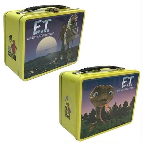 【USA直輸入】 E.T. レトロスタイル ティンボックス バック 缶バック ボックス ET 映画