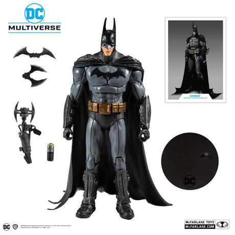 DCコミックス マルチバース Multiverse バットマン アーカム・アサイラム 7インチ アクション  フィギュア DCマルチバース マクファーレントイズ Batman 2009年ビデオゲーム版