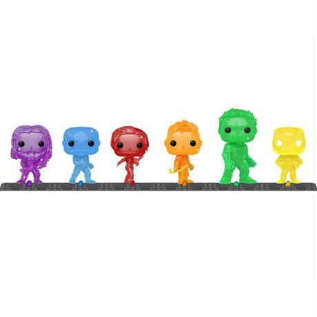 【※ご予約・USA直輸入】POP! MARVEL アーティスト アベンジャーズ ウィズ ベイス 6種セット FUNKO ファンコ フィギュア マーベル インフィニティ  サーガ SAGA
