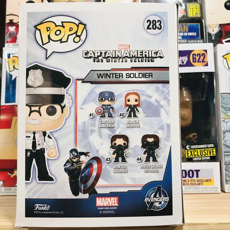 【海外直輸入】POP! MARVEL スタンリー キャプテンアメリカ ウィンターソルジャー ポップ フィギュア FUNKO ファンコ  マーベル