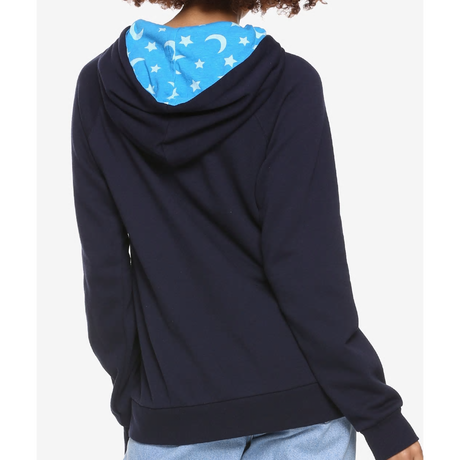 【USA直輸入】DISNEY ミッキーマウス ファンタジア ソーサラー 刺繍 パーカー スウェット 長袖 ディズニー ミッキー Mickey