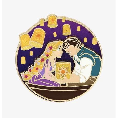 【USA直輸入】Disney 塔の上のラプンツェル ピンバッチ ランタン ゴンドラ ディズニー  PIN ピン バッジ プリンセス   ラプンツェル