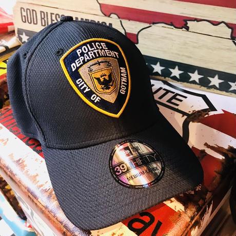 【USA直輸入】DC  ゴッサム ポリス ロゴ キャップ 39Thirty Fitted ニューエラ NEWERA ベースボールキャップ 帽子 DCコミックス ロビン バットマン