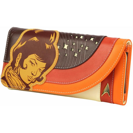 【USA直輸入】スタートレック ウフーラ レトロ スペース 長財布 スタトレ  Star Trek Uhura デフォルメ サイフ 財布 ウォレット 宇宙大作戦 TOS