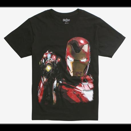 【USA直輸入】MARVEL アベンジャーズ エンドゲーム アイアンマン アイアンガントレット Tシャツ サノス ガントレット マーベル 映画 MCU Iron Man トニースターク