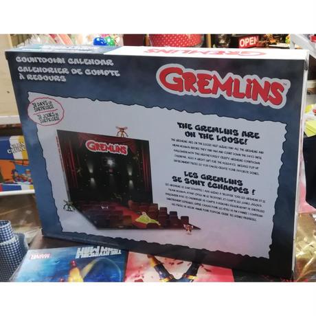 【USA直輸入】Gremlins グレムリン カウントダウン カレンダー & 31ミニ コレクタブル フィギュア 1インチ ギズモ ストライプ モグワイ Gizmo