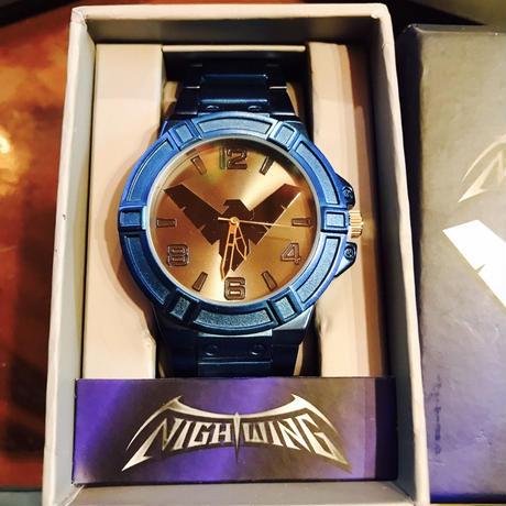 【USA直輸入】DCコミックス ナイトウィング リストウォッチ 腕時計 ロゴ 正規ライセンス ロビン バットマン DC