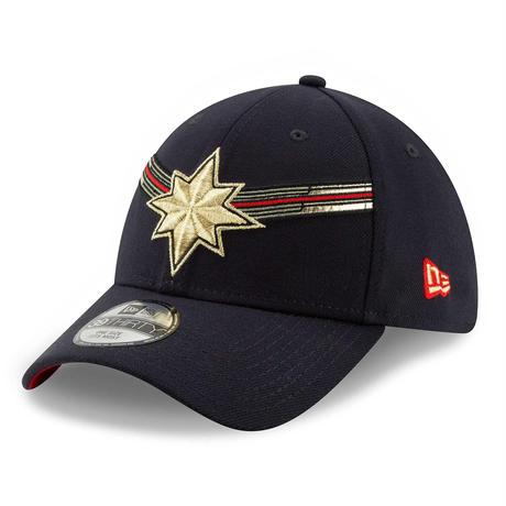 【USA直輸入】MARVEL マーベルスタジオ スタジオ10周年記念  キャプテンマーベル ロゴ 39Thirty  ニューエラ NEWERA 帽子 マーベル  アベンジャーズ