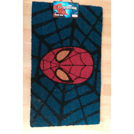【USA直輸入】MARVEL マーベル スパイダーマン フェイス ドアマット Spider-Man マット  アベンジャーズ