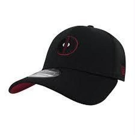 【USA直輸入】MARVEL デッドプール ロゴ キャップ 39Thirty Fitted ニューエラ NEWERA ベースボールキャップ 帽子 デップ マーベル