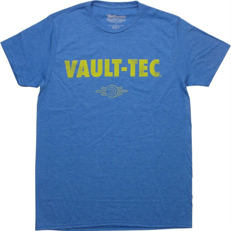 【USA直輸入】フォールアウト Vault-Tec ビンテージ風 ロゴ Tシャツ Sサイズ   Fallout 76  GAME ゲーム ボルトボーイ 111