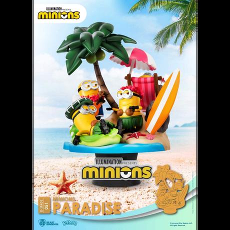 【USA直輸入】 Minions ミニオンズ  ビーストキングダム  D-STAGE Dステージ  シリーズ 「 パラダイス 」 DS-051 ジオラマ スタチュー フィギュア ミニオン