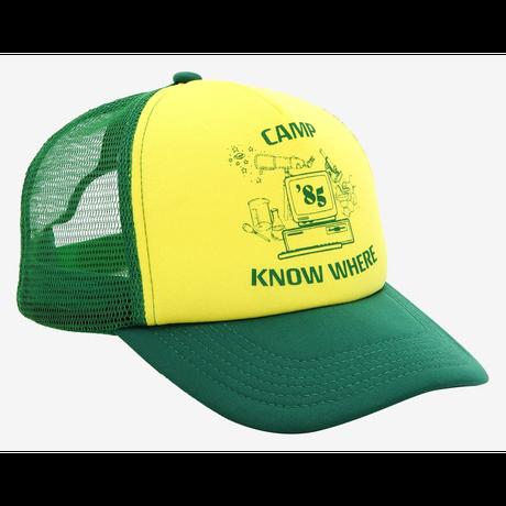 【USA直輸入】ストレンジャーシングス シーズン3  ダスティン Camp Know Where  キャップ ネットフリックス  Stranger Things  帽子