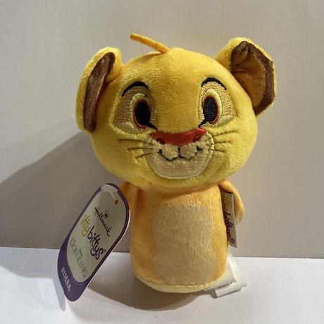 【USA直輸入】Disney ディズニー ライオンキング シンバ Simba  ぬいぐるみ ittybittys  約10cm hallmark イッティビッティズ ライオン・キング