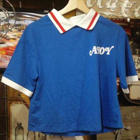 【USA直輸入】ストレンジャーシングス シーズン3 Scoops Ahoy スクープス・アホイ 制服 Tシャツ 半袖 Sサイズ Stranger Things ネットフリックス スクープスアホイ