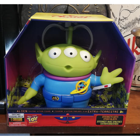 【USA直輸入】DISNEY トイストーリー リトルグリーンメン インタラクティブ トーキング アクション フィギュア   Toy Story  ディズニー ピクサー エイリアン グリーンメン