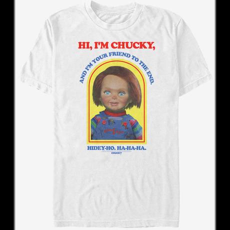 【USA直輸入】Chucky チャッキー Hi I'm Chucky グッドガイ Tシャツ ホラー グッドガイ人形