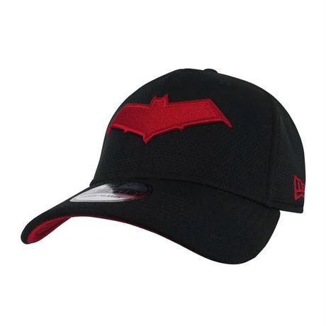 【USA直輸入】DC レッドフード ロゴ キャップ 39Thirty Fitted ニューエラ NEWERA ベースボールキャップ 帽子 DCコミックス ロビン バットマン