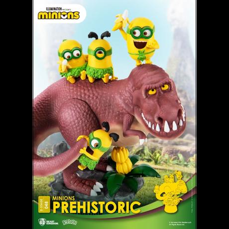 【USA直輸入】 Minions ミニオンズ  ビーストキングダム  D-STAGE Dステージ  シリーズ 「 恐竜時代 」  DS-048 ジオラマ スタチュー フィギュア ミニオン  恐竜