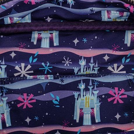 【USA直輸入】DISNEY シンデレラ城 ショルダーバッグ ディズニー ディズニーランド ラウンジフライ  Loungefly 肩掛け バッグ キャッスル シリーズ シンデレラ