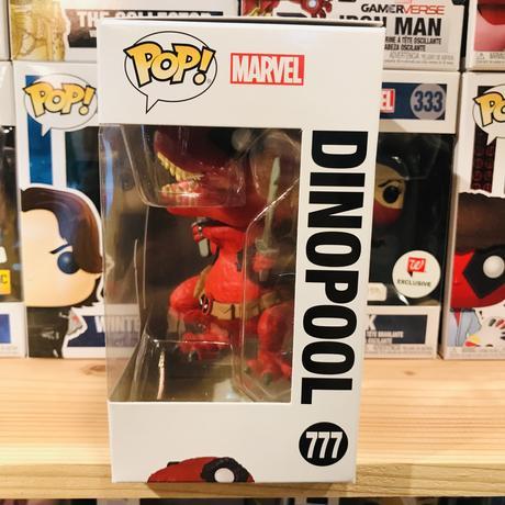 【USA直輸入】POP! MARVEL  デッドプール DINOPOOL ポップ 777 フィギュア FUNKO ファンコ マーベル DEADPOOL