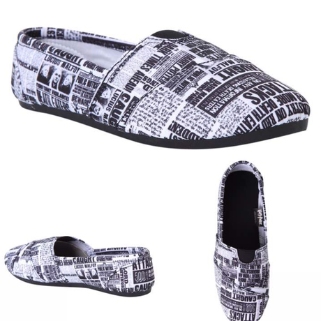 【USA直輸入】 ハリーポッター  スリッポン  シューズ  sサイズ  約23.5センチ SHOES 靴