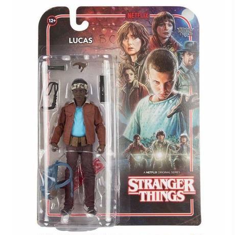 【USA直輸入】ストレンジャーシングス シーズン1 Lucas ルーカス アクション フィギュア マクファーレントイズ McFarlane Toys ネットフリックス  Stranger Things