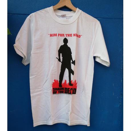 【USA直輸入】SHAUN OF THE DEAD ショーンオブザデッド Aim エイム シルエット Tシャツ   ショーン・オブ・ザ・デッド  ホラー エドガーライト ゾンビ