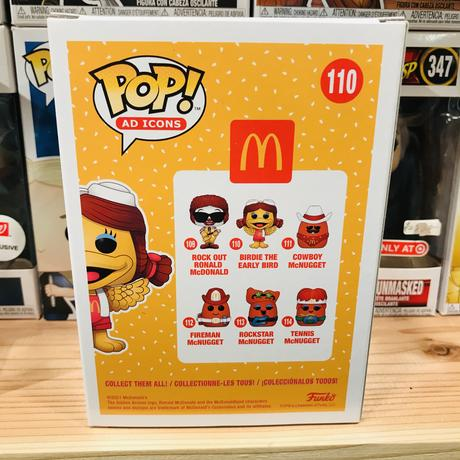 【USA直輸入】POP! マクドナルド バーディ  110 ポップ フィギュア FUNKO ファンコ 企業キャラ アド ミールトイ