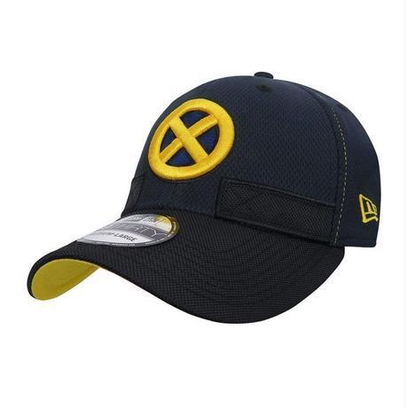 【USA直輸入】MARVEL NEWERA X-MEN ファーストクラス ロゴ 裏地有り キャップ 帽子 ニューエラ 39THIRTY 3930  マーベル  エックスメン Xメン