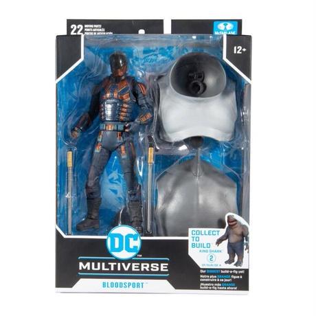 【※ご予約商品】DCコミックス ザ スーサイドスクワッド ブラッドスポート マルチバース 7インチ アクション  フィギュア DC マクファーレントイズ   2021 極悪党 集結