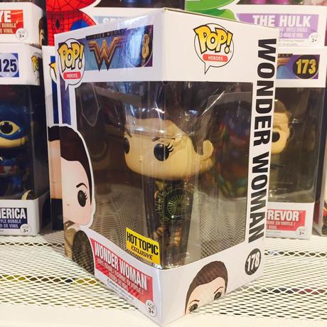 【USA直輸入】POP! DCコミックス ワンダーウーマン アマゾン 限定品 FUNKO ファンコ フィギュア DC