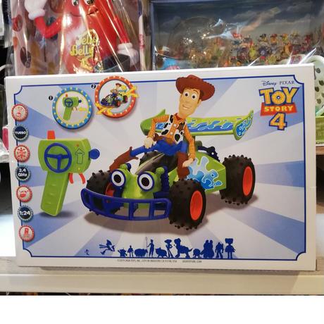 【USA直輸入】DISNEY  トイストーリー RC ターボ バギー & ウッディ 1/24サイズ フィギュア リモコン付き ラジコンカー Toy Story  ディズニー RC RCバギー