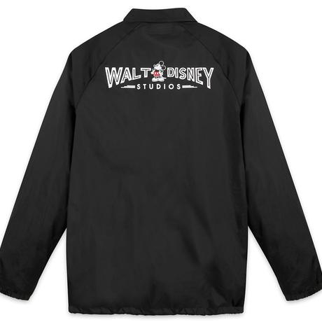 【USA直輸入】DISNEY 30年代 ウォルトディズニー スタジオ のロゴ Walt Disney Studios ナイロン ジャケット ミッキーマウス ミッキー アウター ディズニー