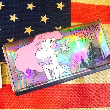 【海外商品】アリエル ウォレット 財布 リトルマーメイド Disney