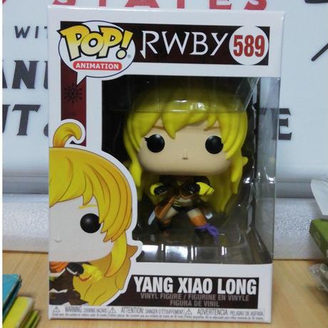 【USA直輸入】POP! RWBY  Yang Xiao Long ヤン・シャオロン 589 ポップ フィギュア FUNKO ファンコ アニメ ゲーム GAME Ruby  ルビー  の姉