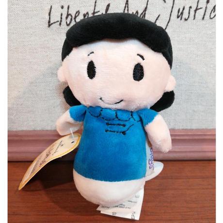 【USA直輸入】Peanuts スヌーピー ルーシー ぬいぐるみ ittybittys ピーナッツ 約10cm hallmark