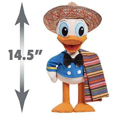 【USA直輸入】DISNEY  ディズニートレジャーシリーズ No,5 ドナルドダッグ ぬいぐるみ プラッシュ ディズニー 3人の騎士 ホセパン メキシカン