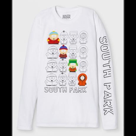 【USA直輸入】South Park サウスパーク スタン カイル カートマン  ケニー 長袖 シャツ ロンT ロングスリーブ 海外アニメ
