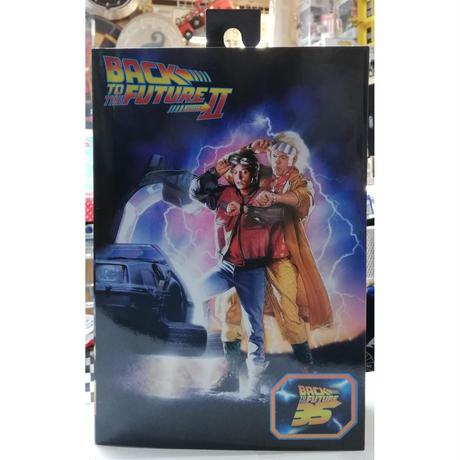 【USA直輸入】NECA バックトゥザフューチャー2 マーティ・マクフライ アルティメット 7インチ アクション フィギュア ネカ Back to the future 35周年