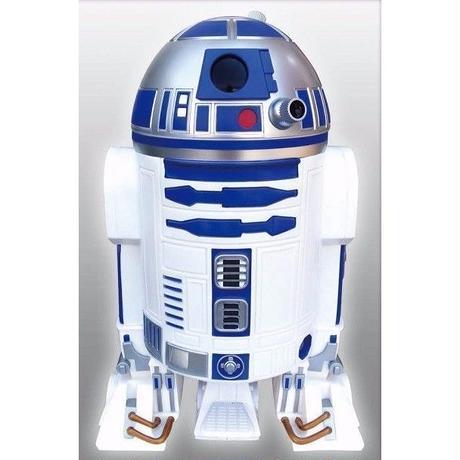 【60cm!BIGサイズ】スターウォーズ R2-D2  ごみ箱 ダストボックス