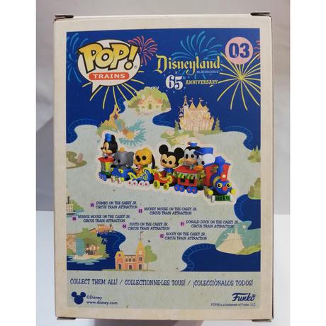 【USA直輸入】 POP! TRAINS DISNEY ディズニーランド リゾート65thアニバーサリー ミッキーマウス on ケイシージュニア・サーカストレイン03  ポップ! FUNKO ファンコ