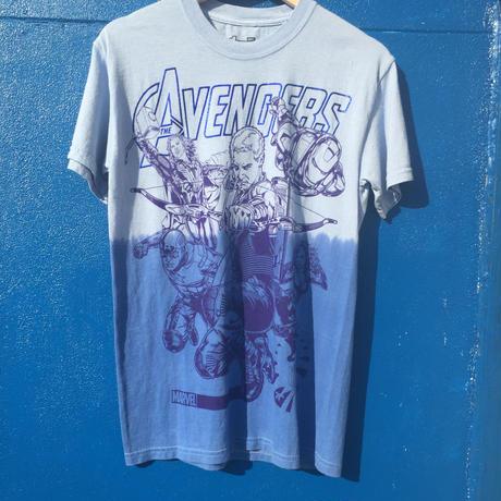 海外商品 marvel アベンジャーズ Tシャツ Sサイズ グラデーション