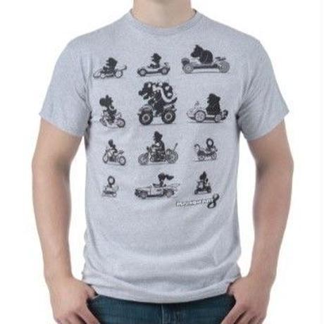 【USA直輸入】スーパーマリオ マリオカート 8 レーサー Tシャツ マリオ クッパ ヨッシー ピノキオ ゲーム GAME