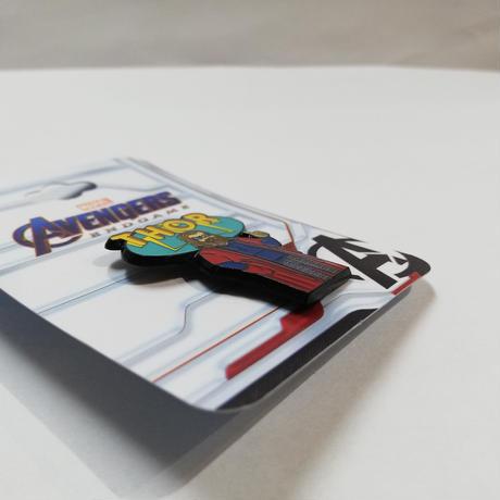 【USA直輸入】MARVEL アベンジャーズ エンドゲーム マイティソー エナメル ピン ピンズ ピンバッジ 太っちょソー ソー